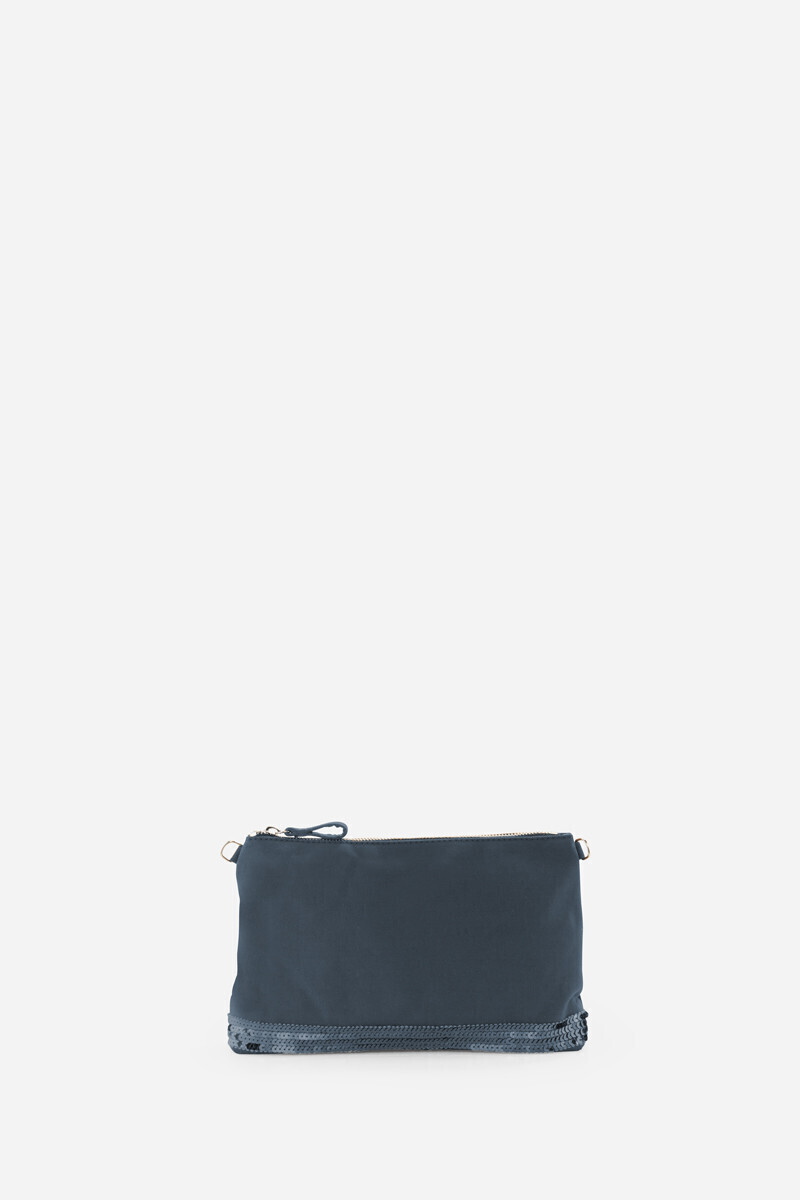 Canvas And Sequins Clutch Bag Black/Indigo/SAFARI/PYRITE/ANTHRACITE/Horizon alt_par_VB
