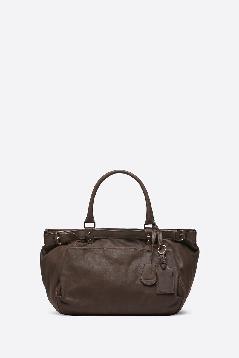 Lune bag Black/Petal/Ginger colour/Vegetal alt_par_VB