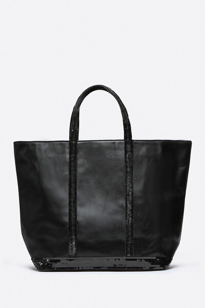 Medium + Leather And Sequins Cabas Tote Bag Vanessa Bruno