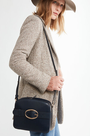 Calfskin Leather Iris Bag