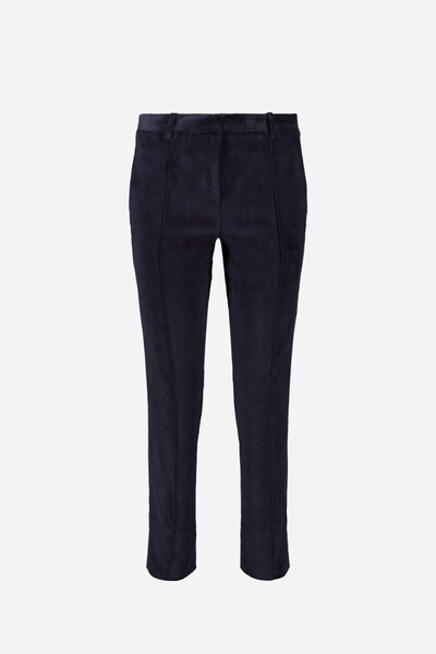 Velvet pinstriped Jame trousers