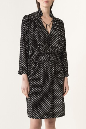 Viscose geometric printed Janaelle dress