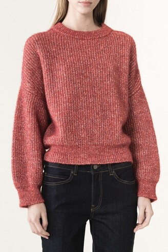 Wool, alpaca and cotton Jacome sweater