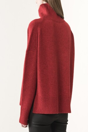 Wool and yack Jafet sweater