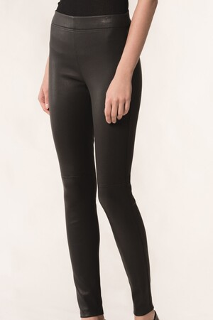 Stretch natural leather Haikel legging