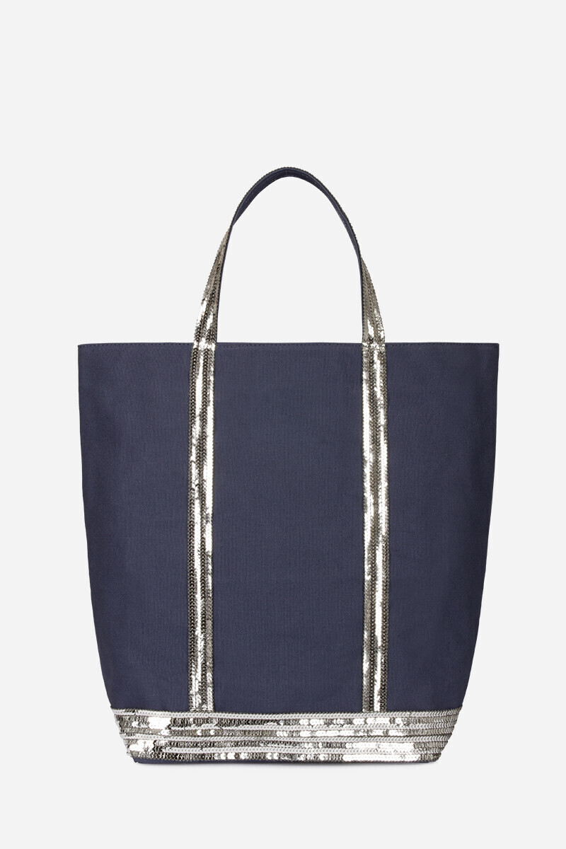 The Nord Sud Cabas Tote Bag Black/Indigo/PYRITE/ANTHRACITE/Powder/NAVY/MOON par Vanessa Bruno