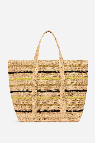 100ea1ab1 Vanessa Bruno Cabas Tote Bags: Canvas, Linen, Leather and Raffia