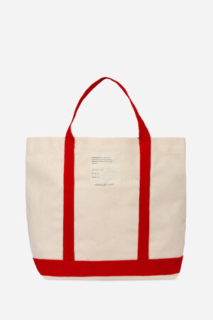 Ccharmeuse Cotton Cabas Tote Bag