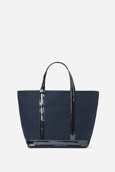Medium Canvas And Sequins Cabas Tote Bag Vanessa Bruno