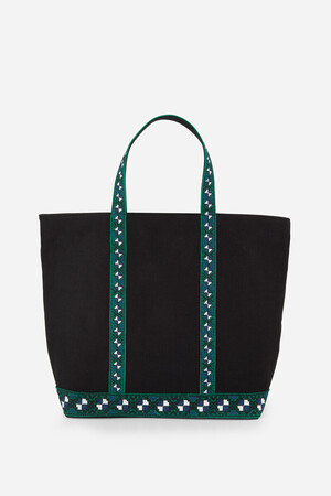 Medium + Canvas and Embroideries Cabas Tote Bag