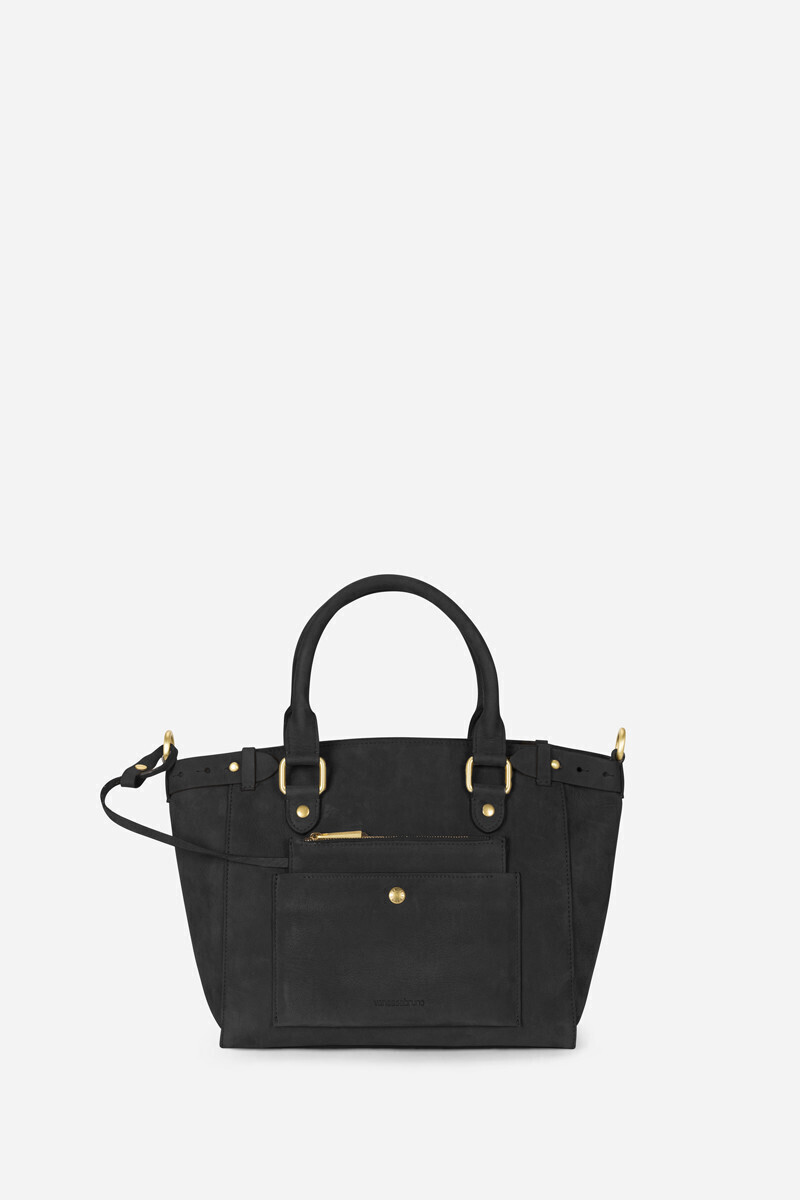 Medium Calfskin Leather Eclipse Bag Black/Paprika/Indigo/COFFEE/Ocean/Petal/Ginger colour/Vegetal alt_par_VB