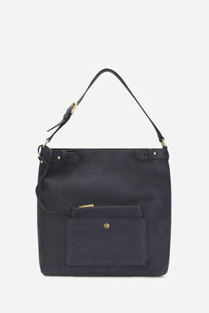 Calfskin Leather Eclipse Hobo Bag