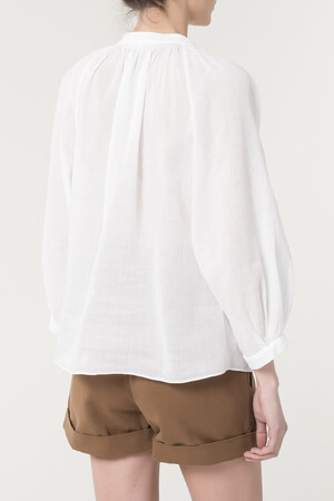Ramie And Cotton Gwenael Blouse