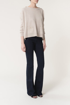 Wool And Cashmere Goupil Sweater