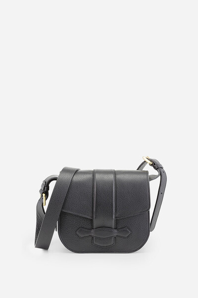 Leather Gemma Flap Bag