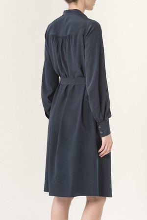 Heavy crepe de Chine Holly dress