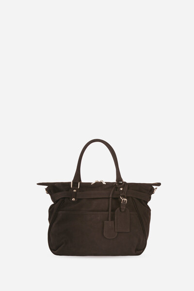 Calfskin Leather Lune Aimé Bag